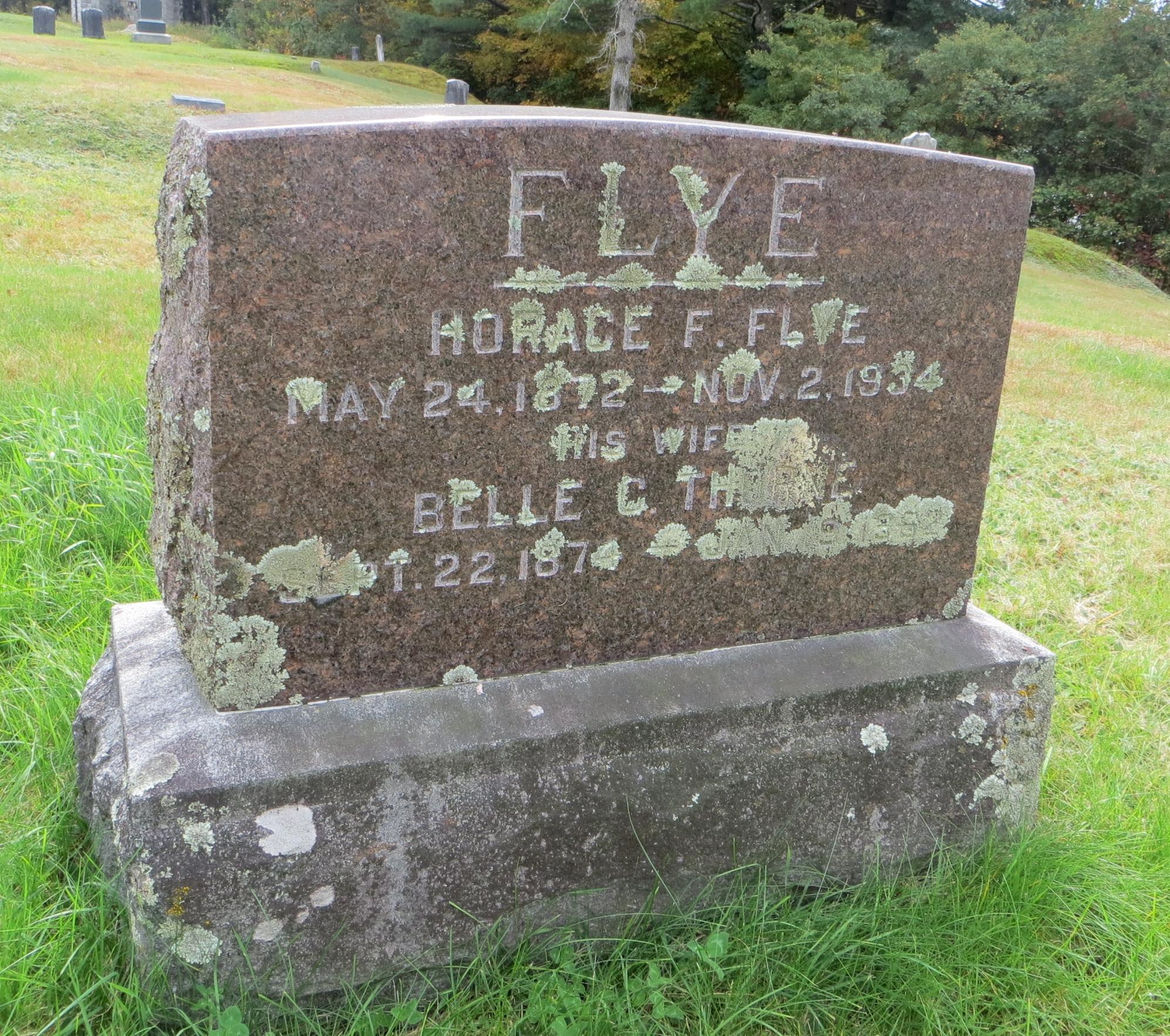 Belle C. <i>Thorne</i> Flye