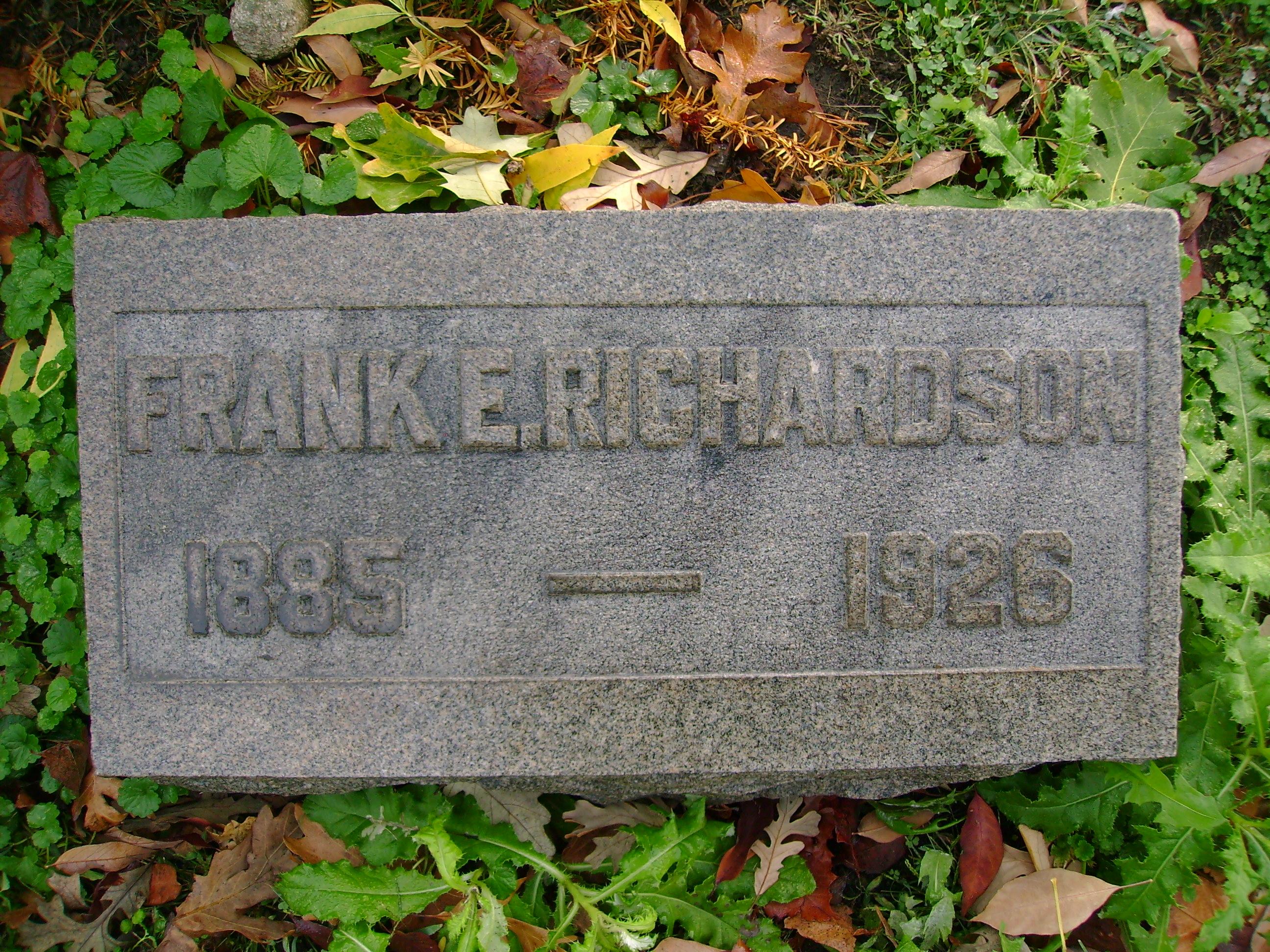 Francis Edward Frank Richardson