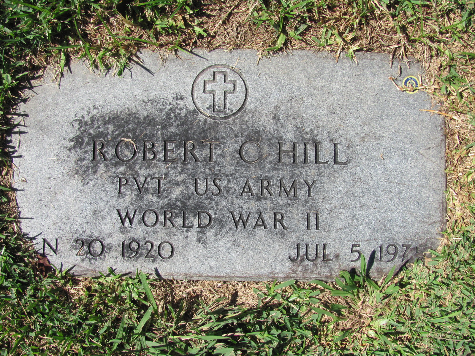 Pvt Robert Charles Hill
