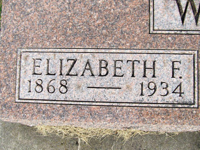 Elizabeth F. Waldon