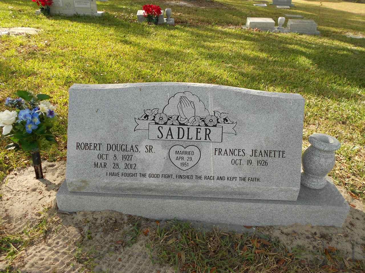 robert douglas sadler sr 1927 2012 find a grave memorial