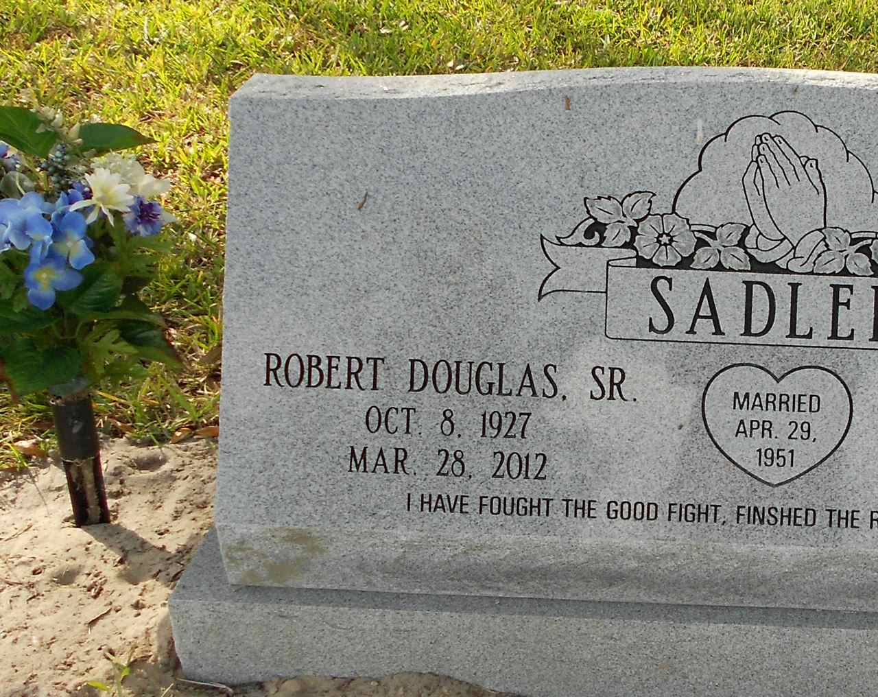 robert douglas sadler sr 1927 2012 find a grave memorial