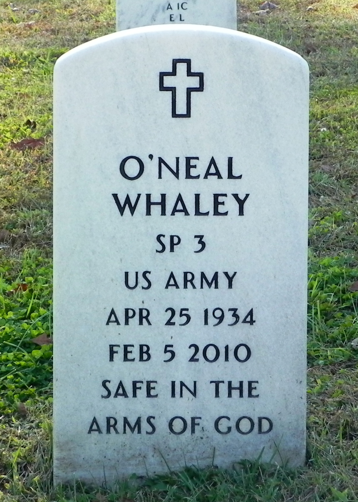 ONeal Laverne Whaley Find A Grave Memorial