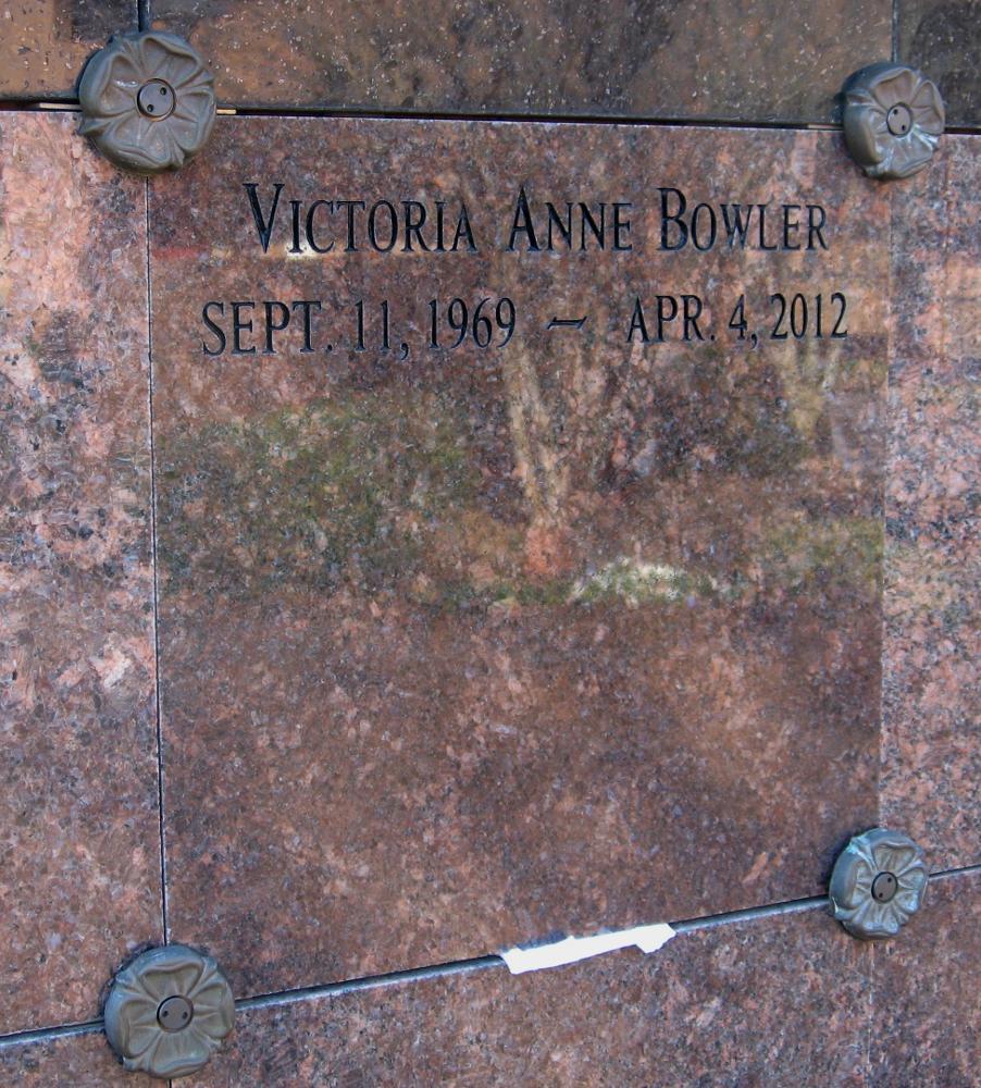 Victoria Anne Vickie Bowler