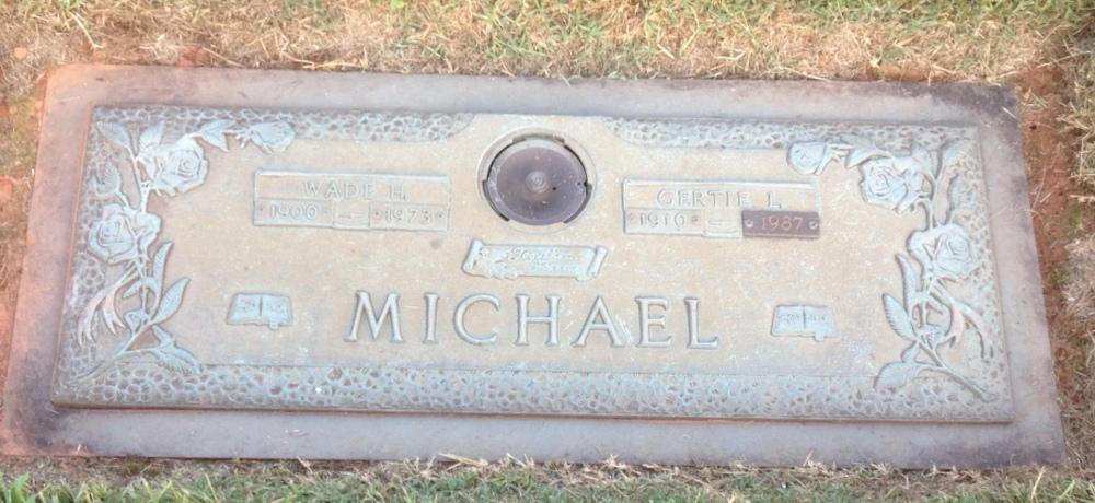 Gertrude Lee Gertie <i>Loftin</i> Michael