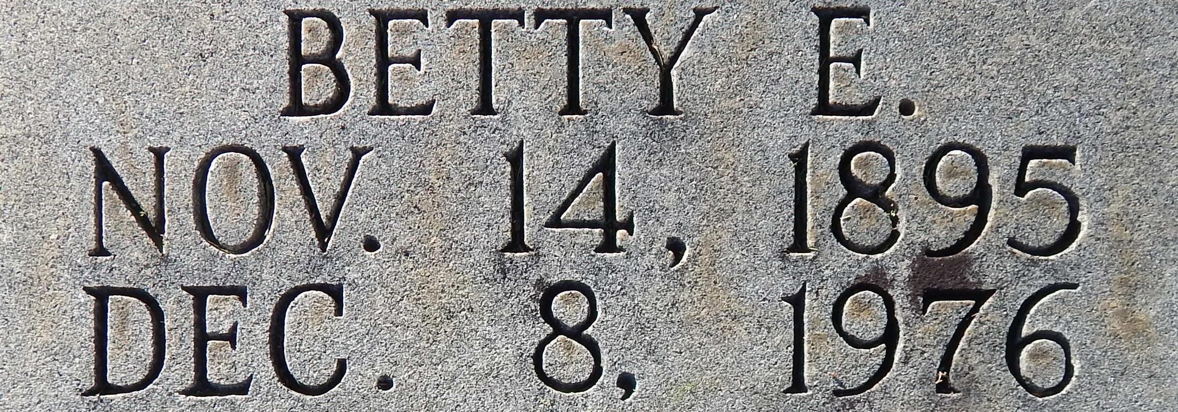 Betty E. Blanks
