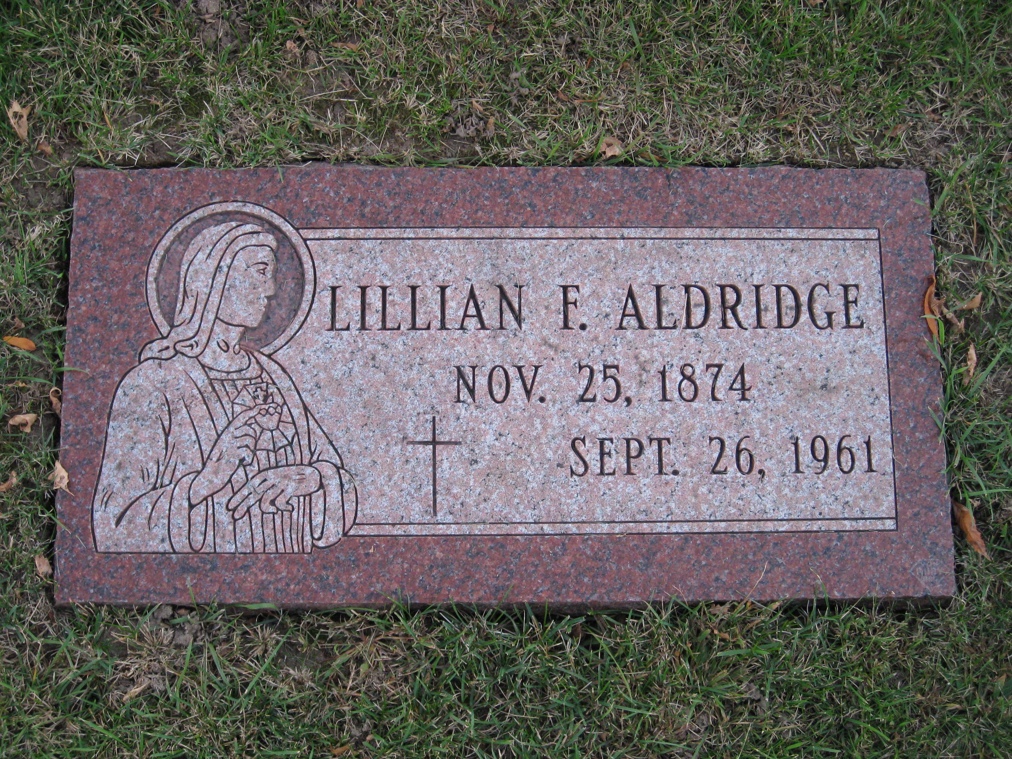 Lillian F. <i>Vaughn</i> Aldridge