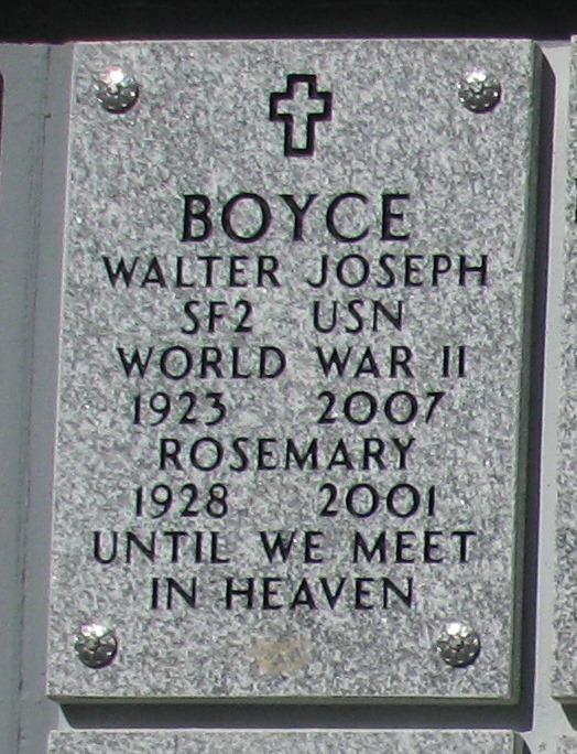 Rosemary <i>Caywood</i> Boyce