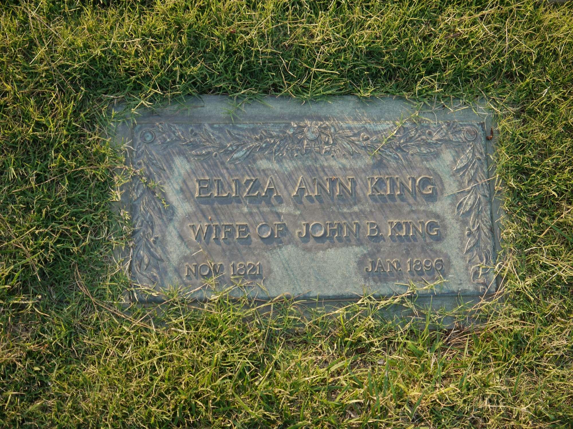 Eliza Ann <i>Sperry</i> King