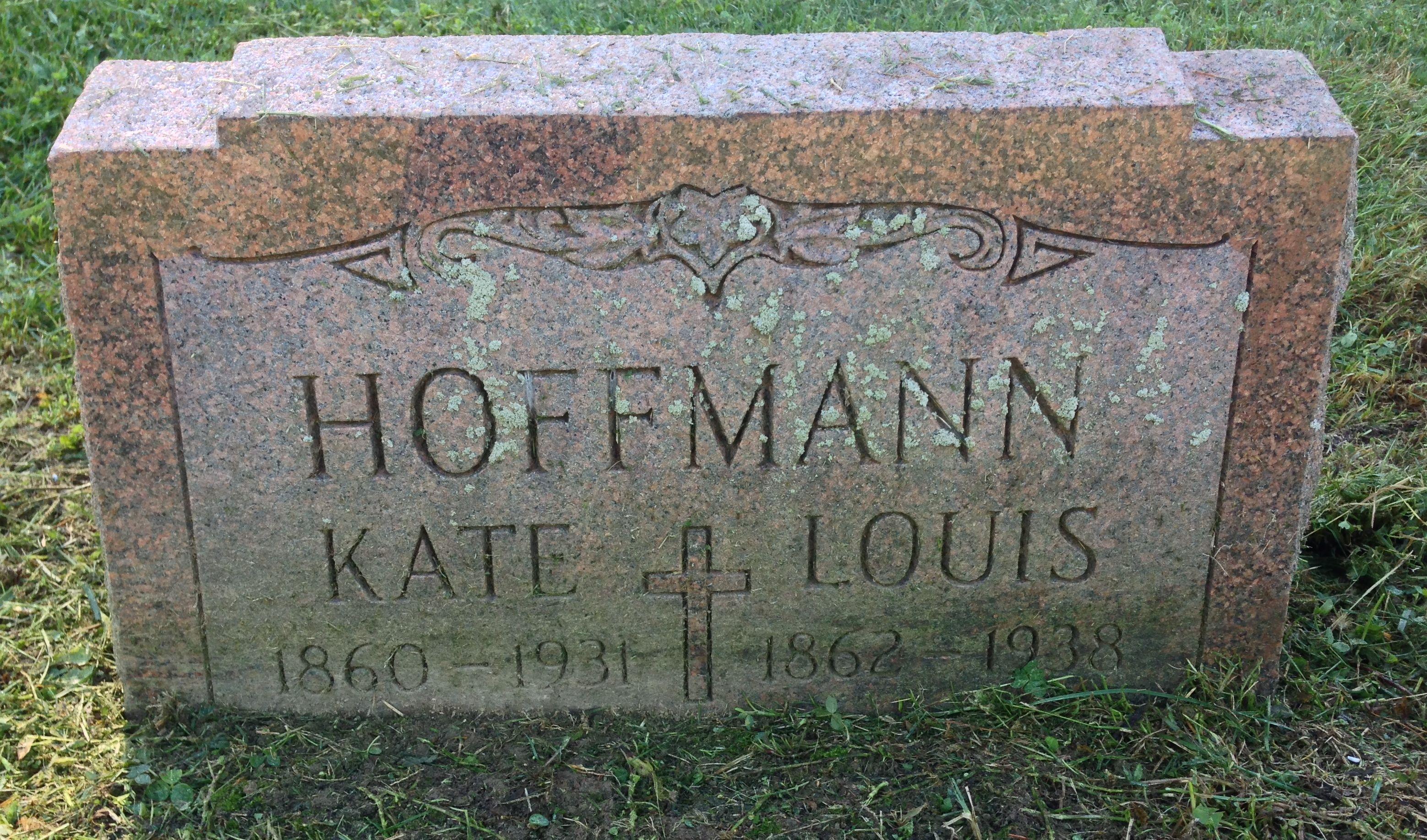 Katherine Kate <i>Rittenger</i> Hoffmann