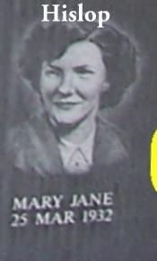 Mary Jane <i>Hislop</i> Brubaker