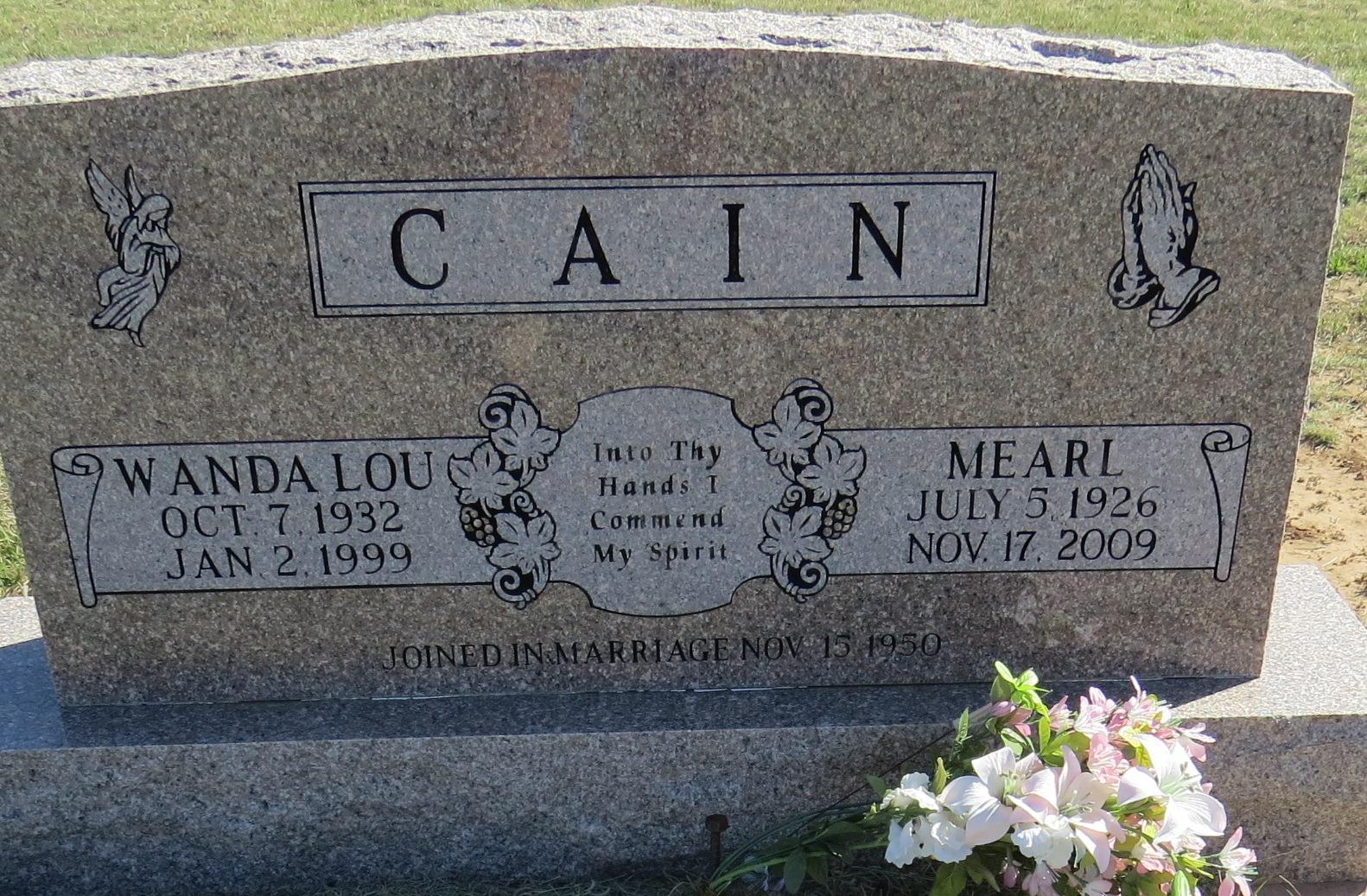 Wanda Lou <i>Crosswhite</i> Cain