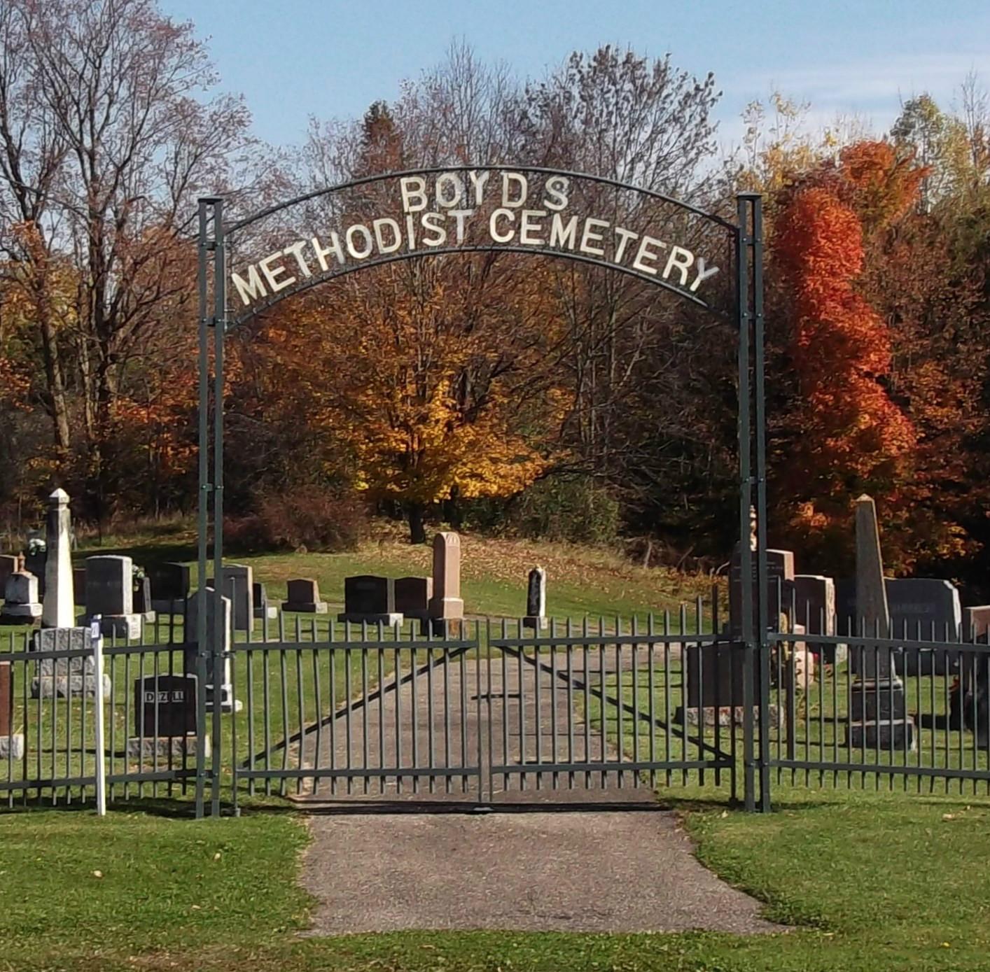 Boyd's Methodist Cemetery in Boyds, Ontario - Find A Grave Cemetery