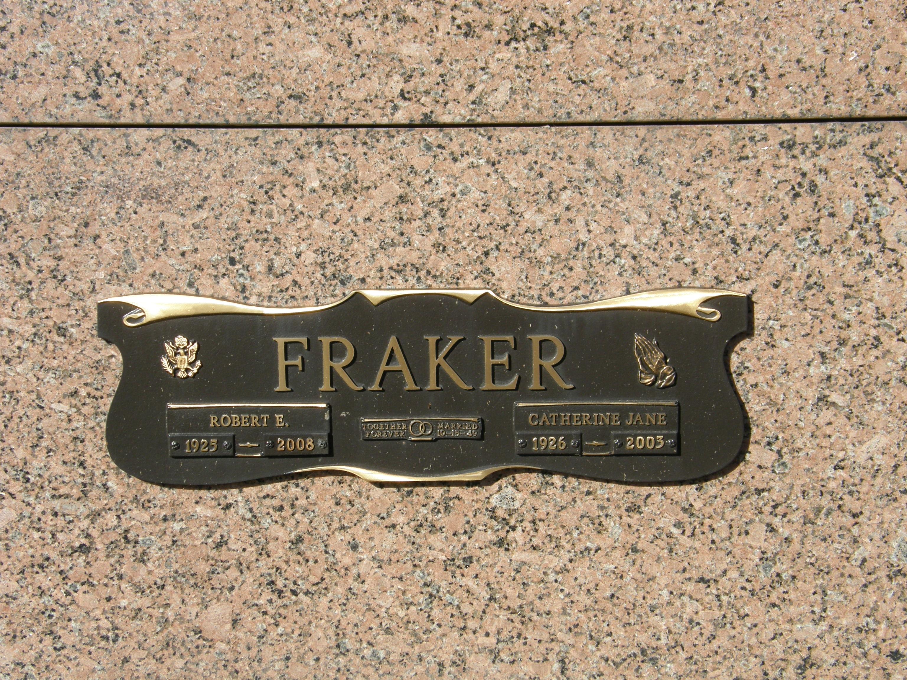 Robert E. Frake Fraker