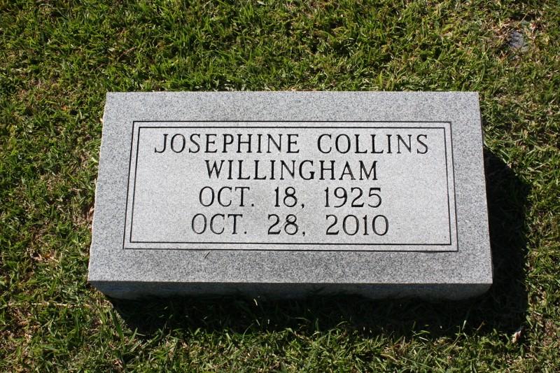Josephine <i>Collins</i> Willingham