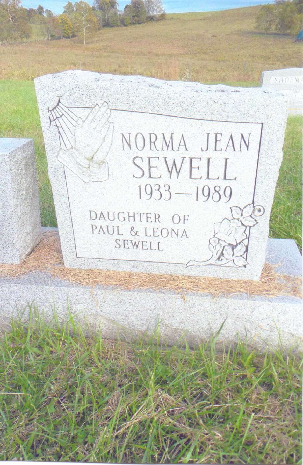 Norma Jean Sewell Zook (1933-1989) - Find A Grave Memorial