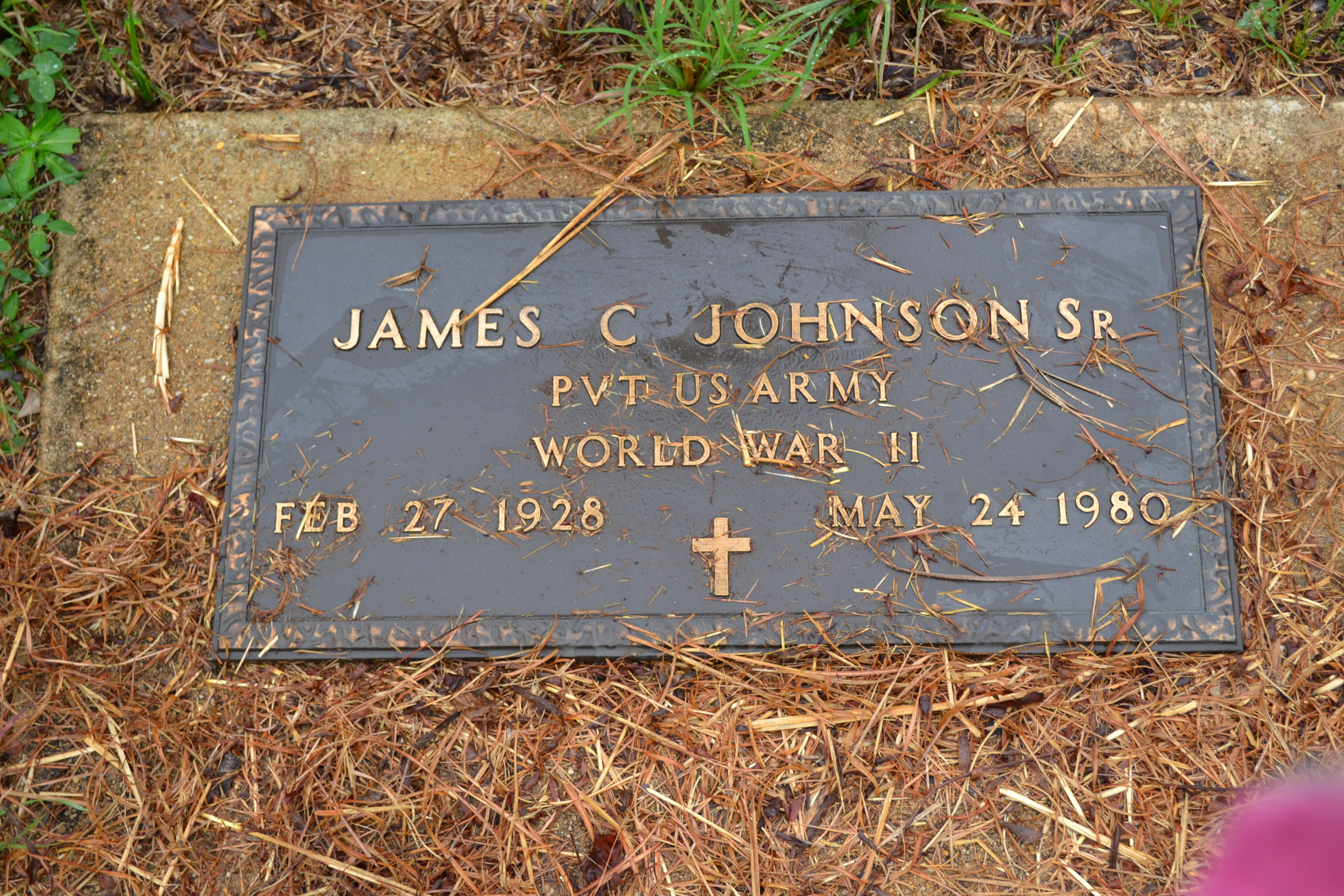 James C. Johnson, Sr