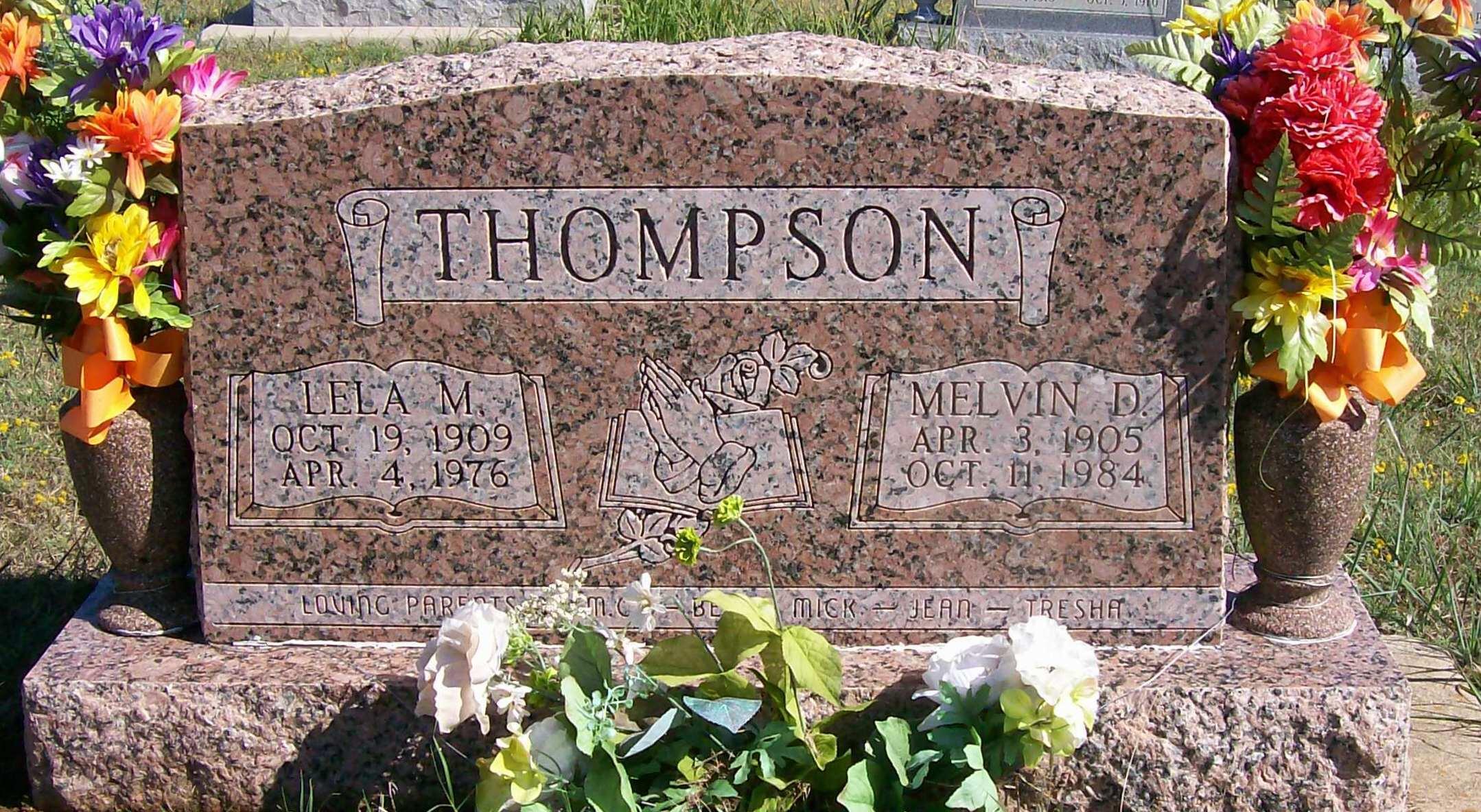Lela M. <i>Cox</i> Thompson