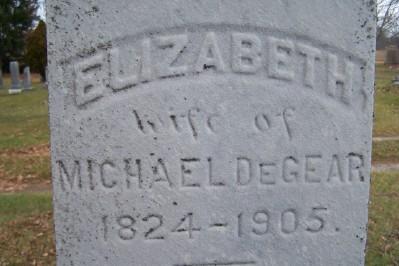 Elizabeth DeGear