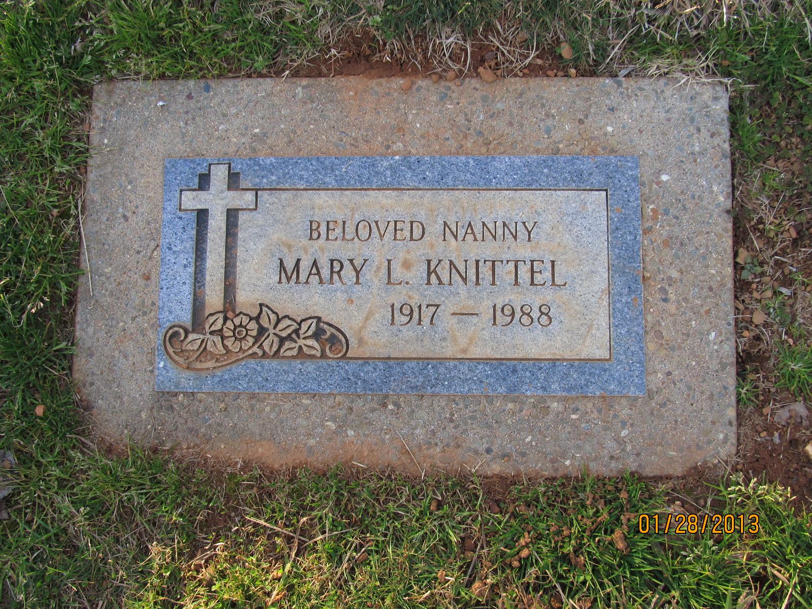 Mary <i>Leon</i> Knittel