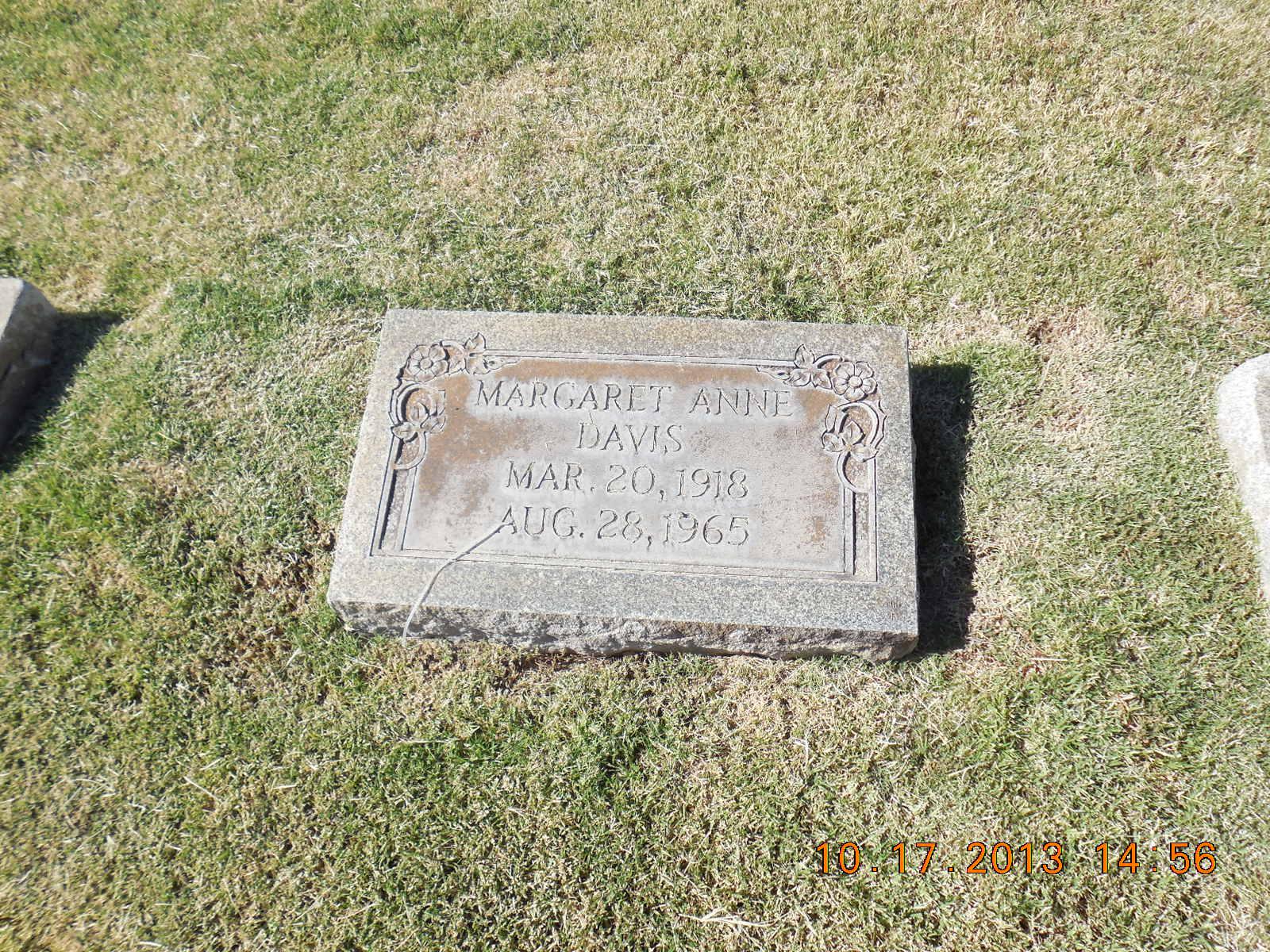 Margaret <i>Wymond</i> Davis