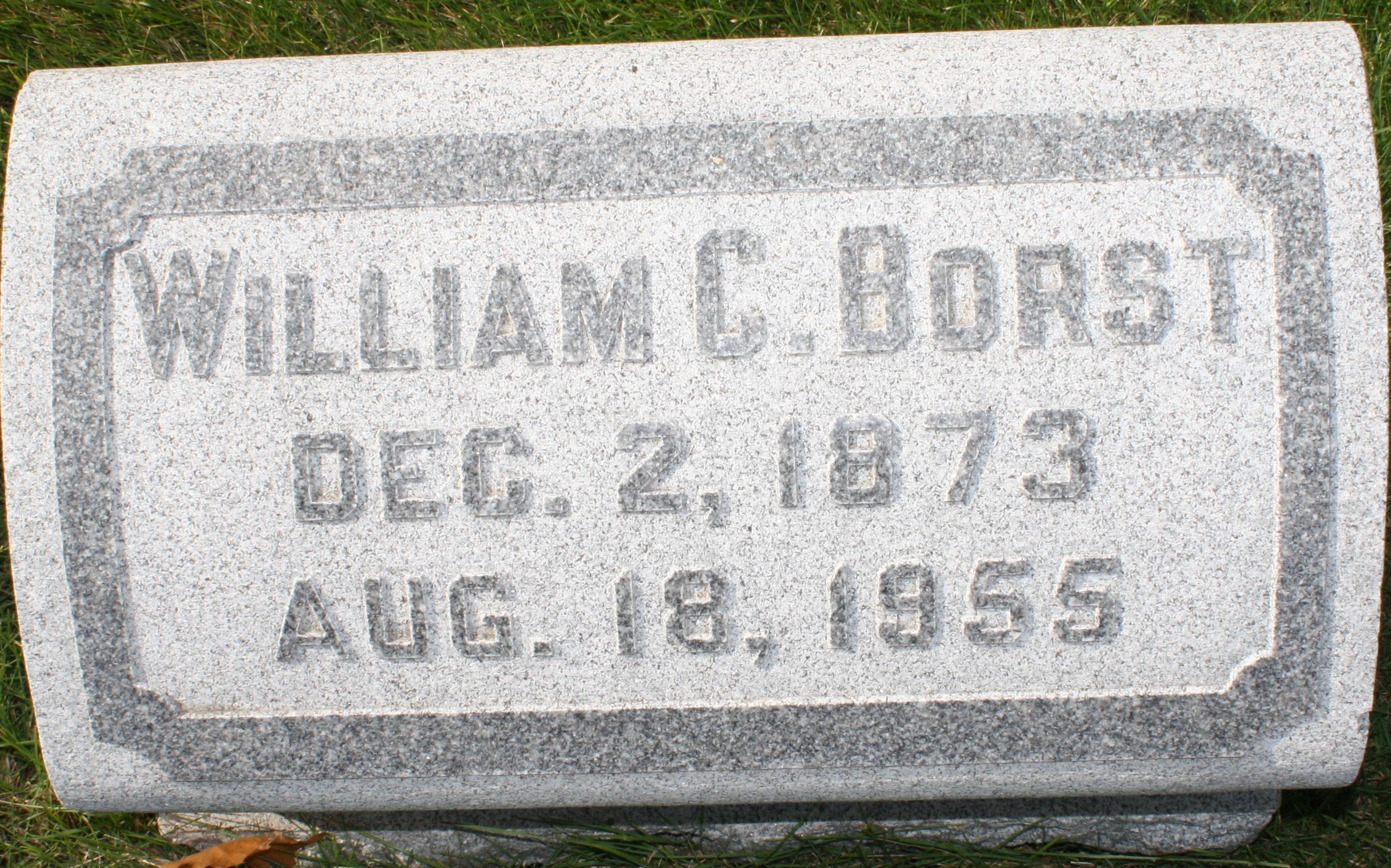 William Chalmers Borst