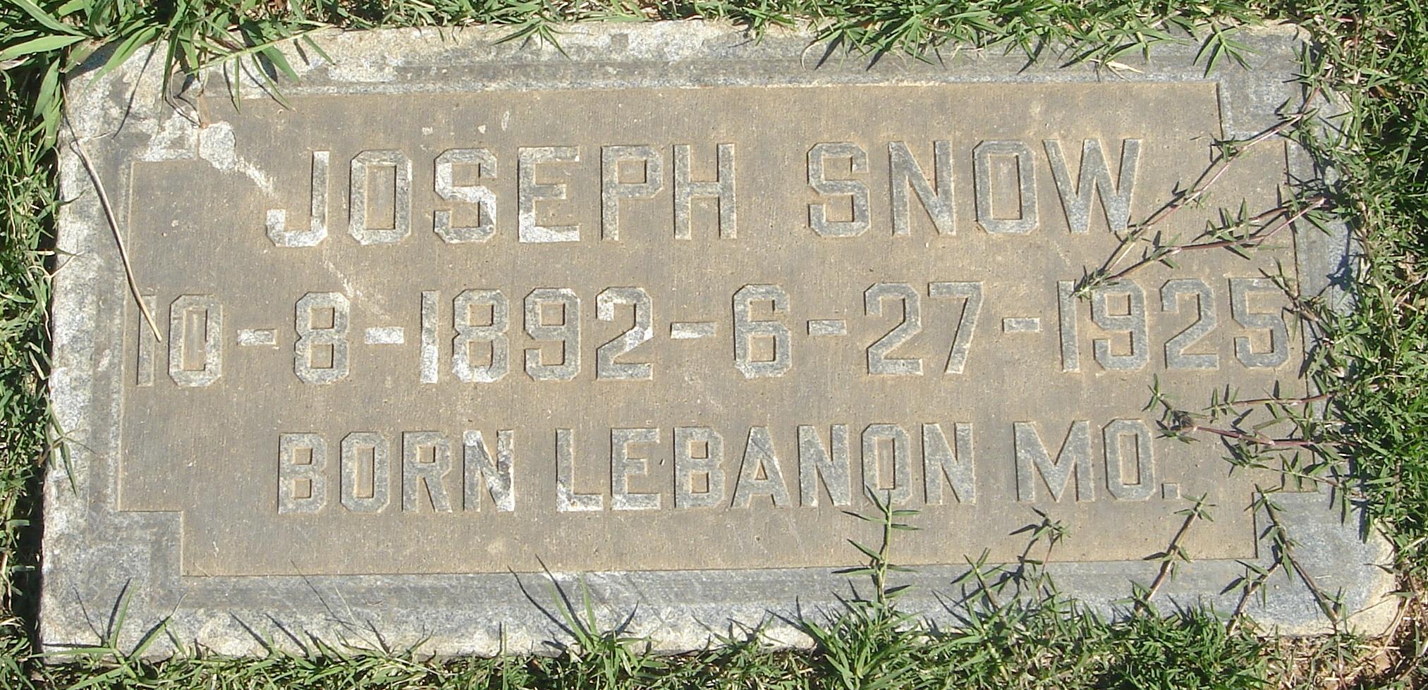 Joseph Snow