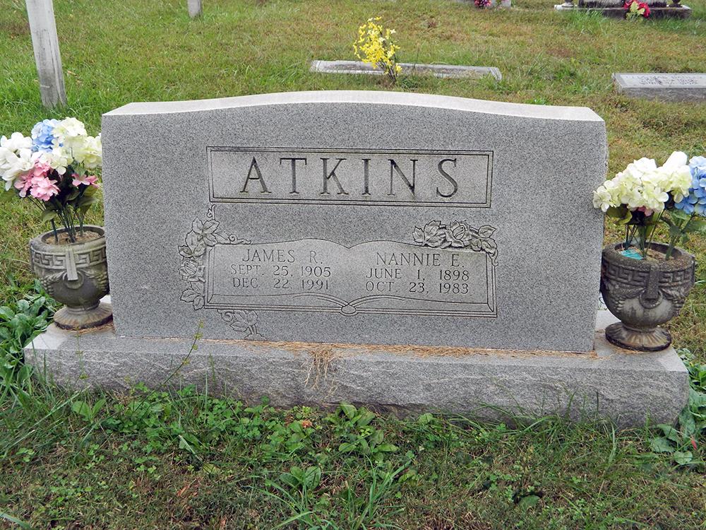 Nannie <i>Eads</i> Atkins