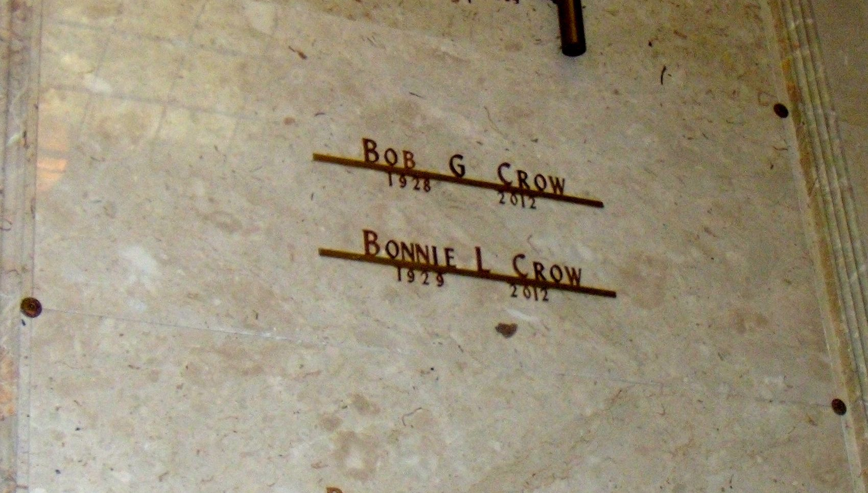 Bobby Gene Crow