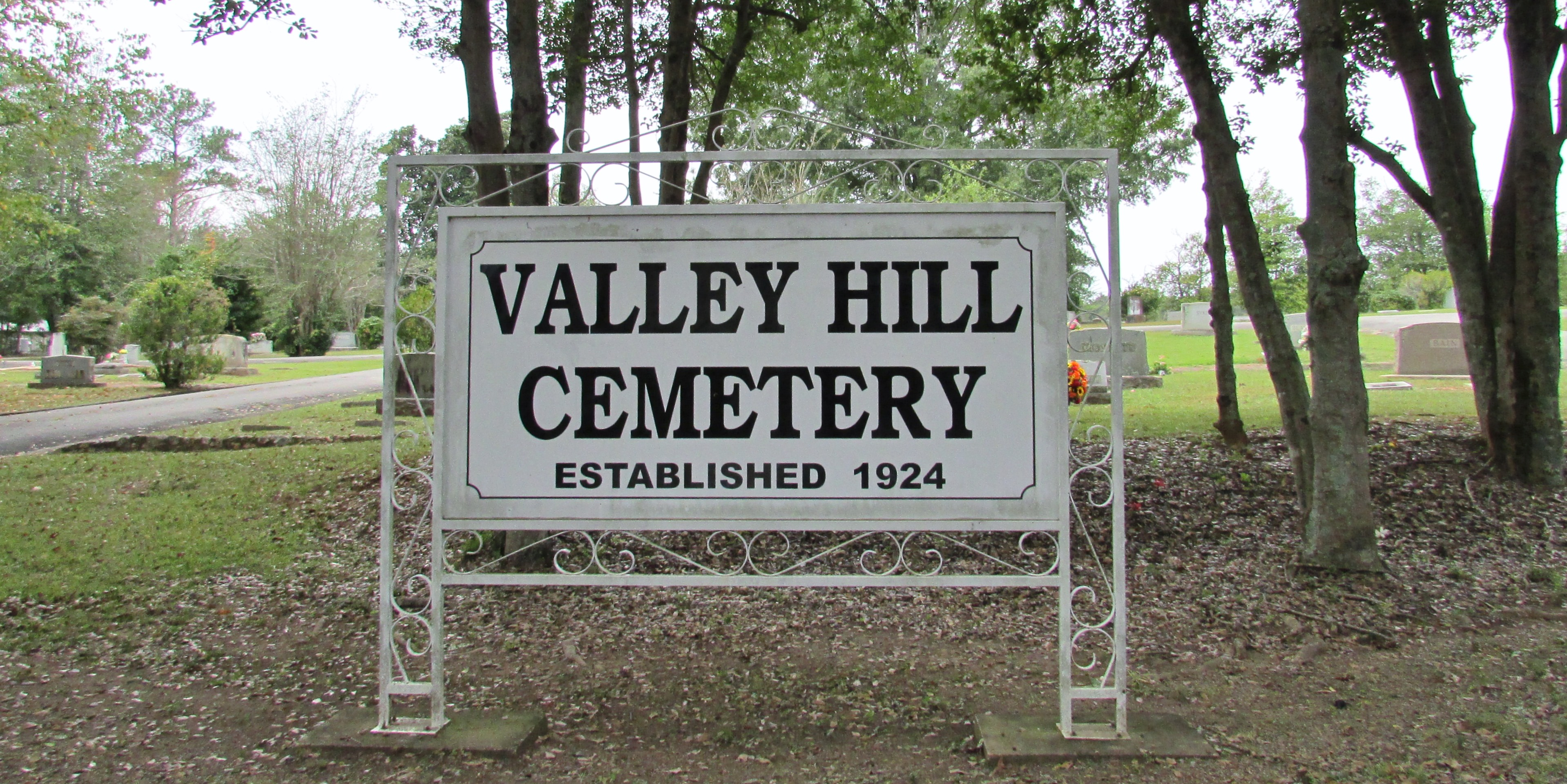 Valley Hill Cemetery