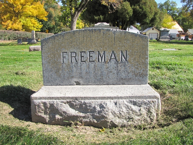Horace M Dad Freeman