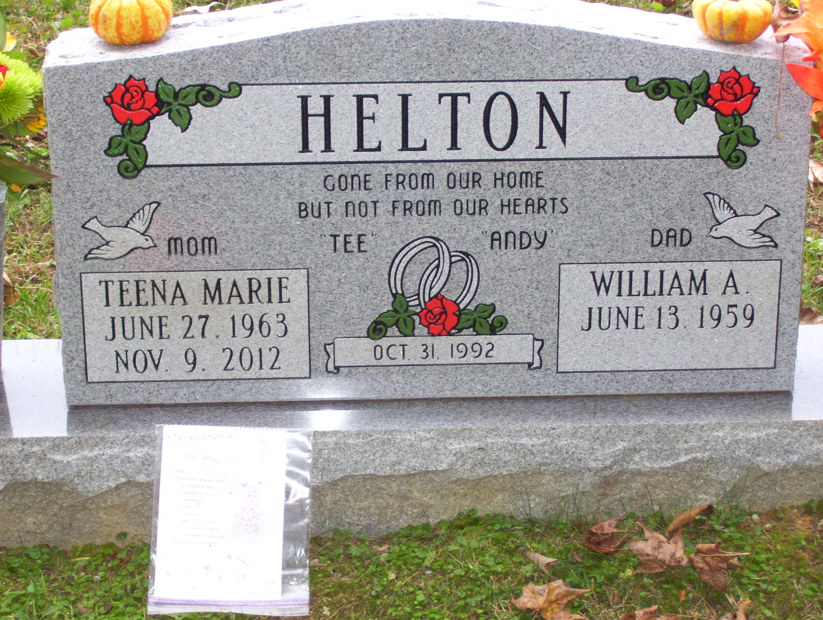 Teena Marie Brunty Helton Find A Grave Memorial
