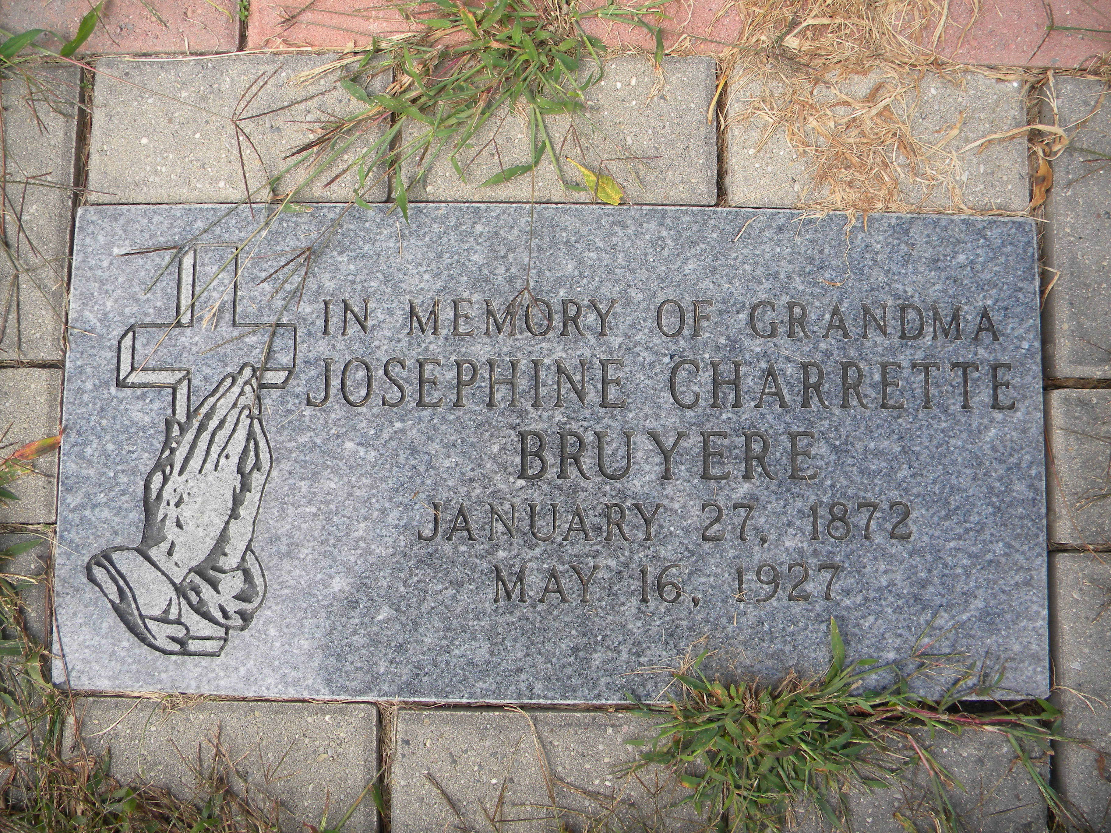 Josephine <i>Charrette</i> Bruyere