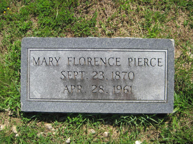 Mary Florence Pierce