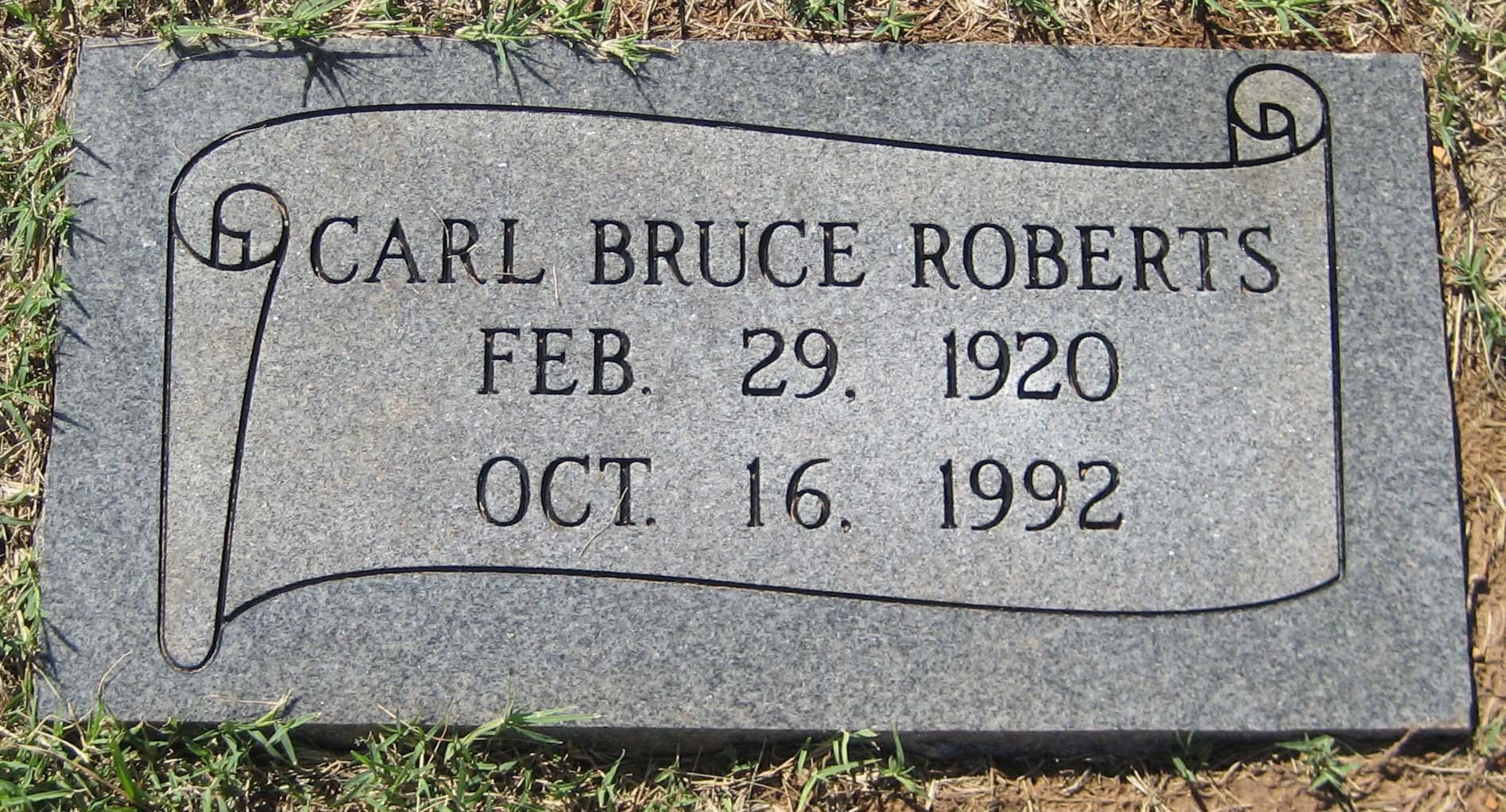Carl Bruce Roberts