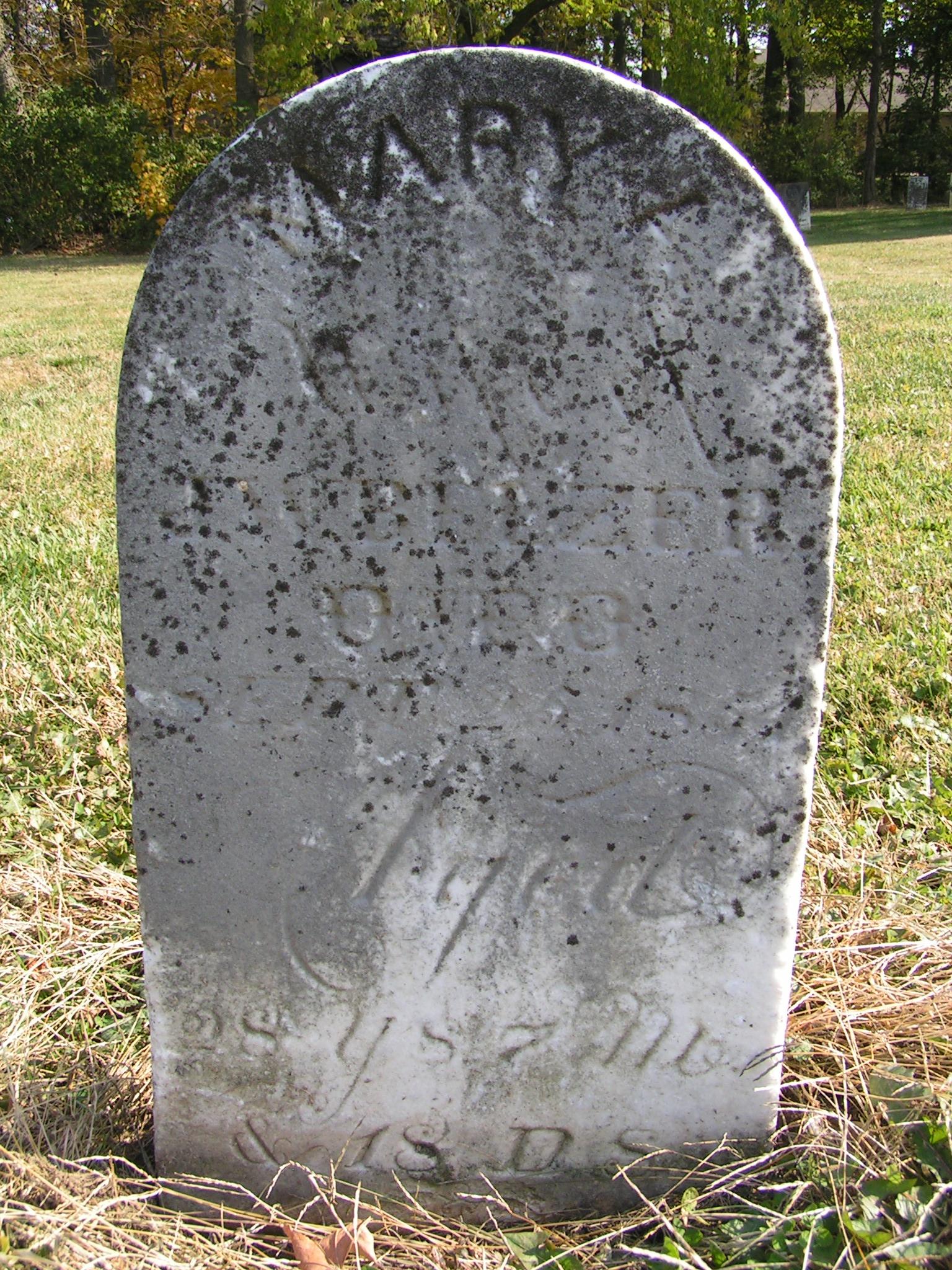 Mary Ann <i>Jones</i> Belzer
