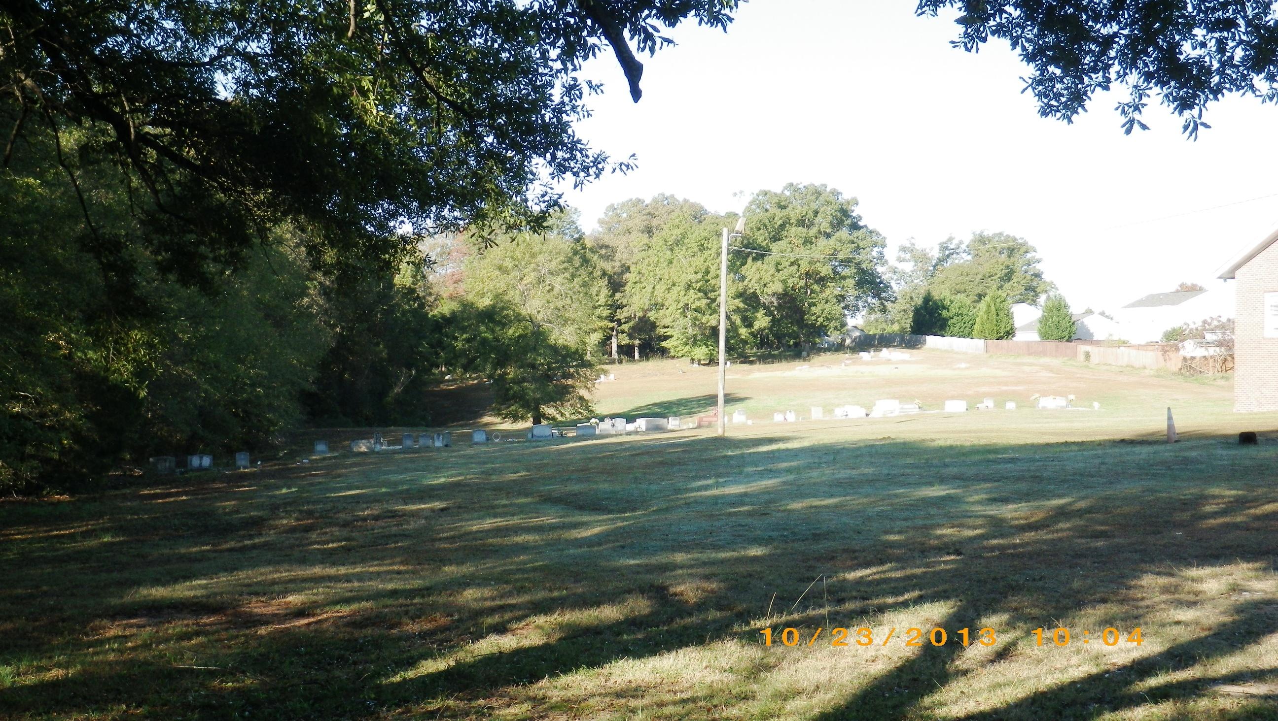 Old Pilgrim Missionary Baptist Church Cemetery