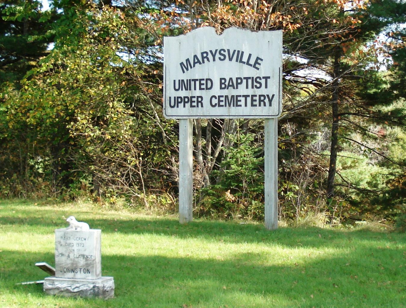 Marysville United Baptist Church Cemetery
