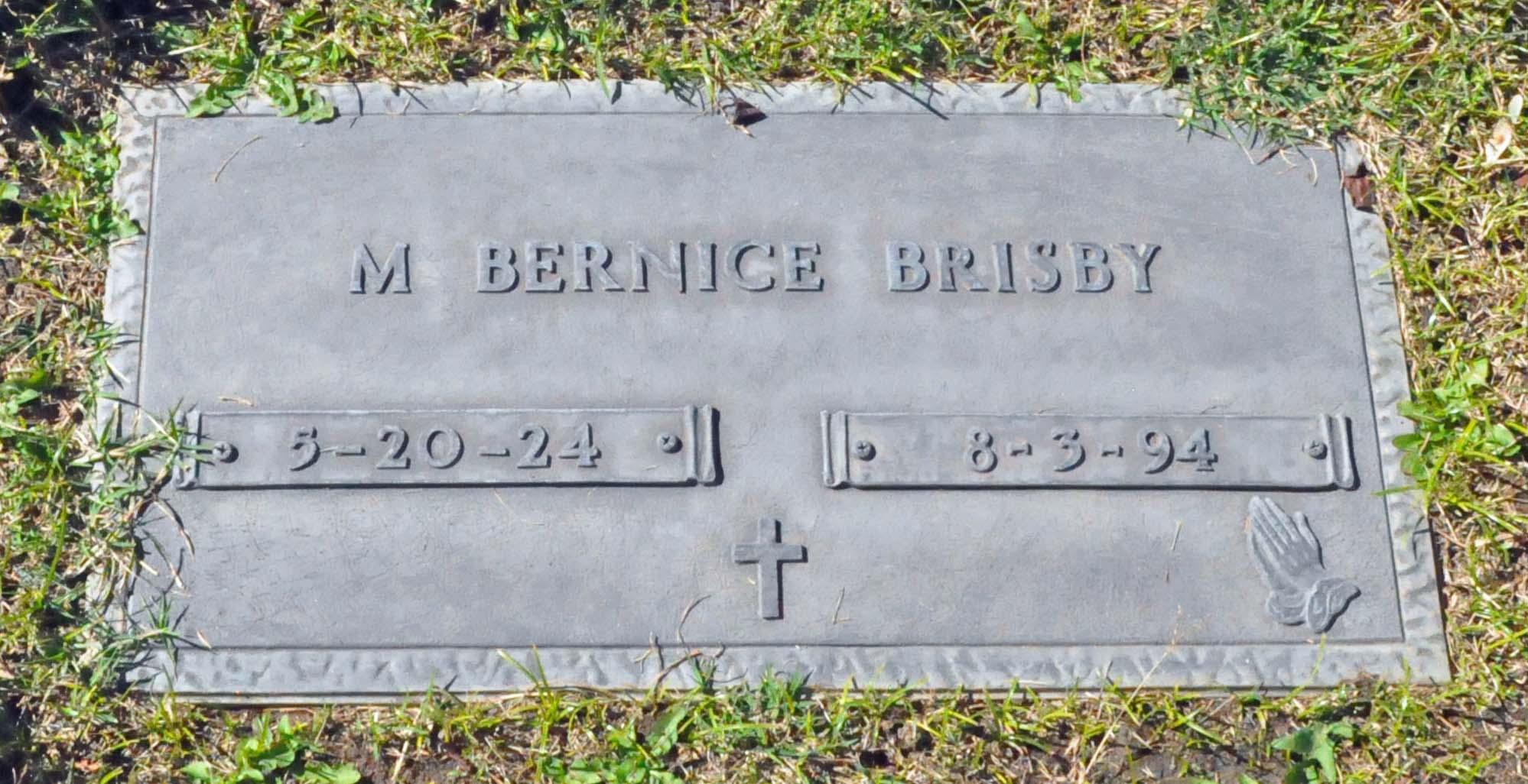 Mabel Bernice <i>Brisendine</i> Brisby