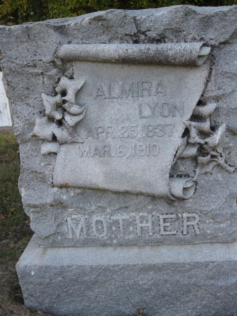 Almira Amanda <i>Putnam</i> Lyon