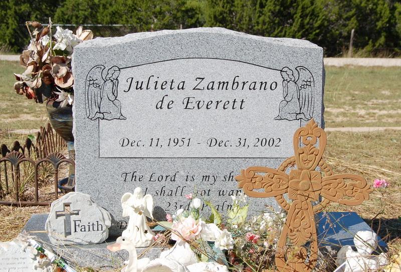 Julieta <i>Zambrano</i> Everett