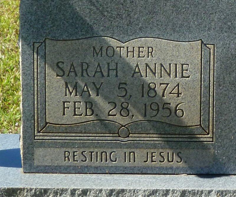 Sarah Annie <i>Compton</i> Alexander