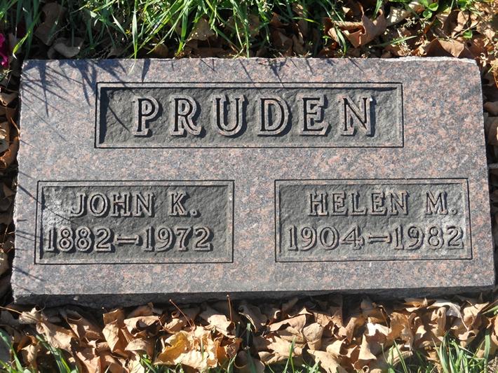 Helen M Pruden