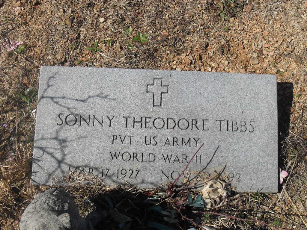 Sonny Theodore Tibbs