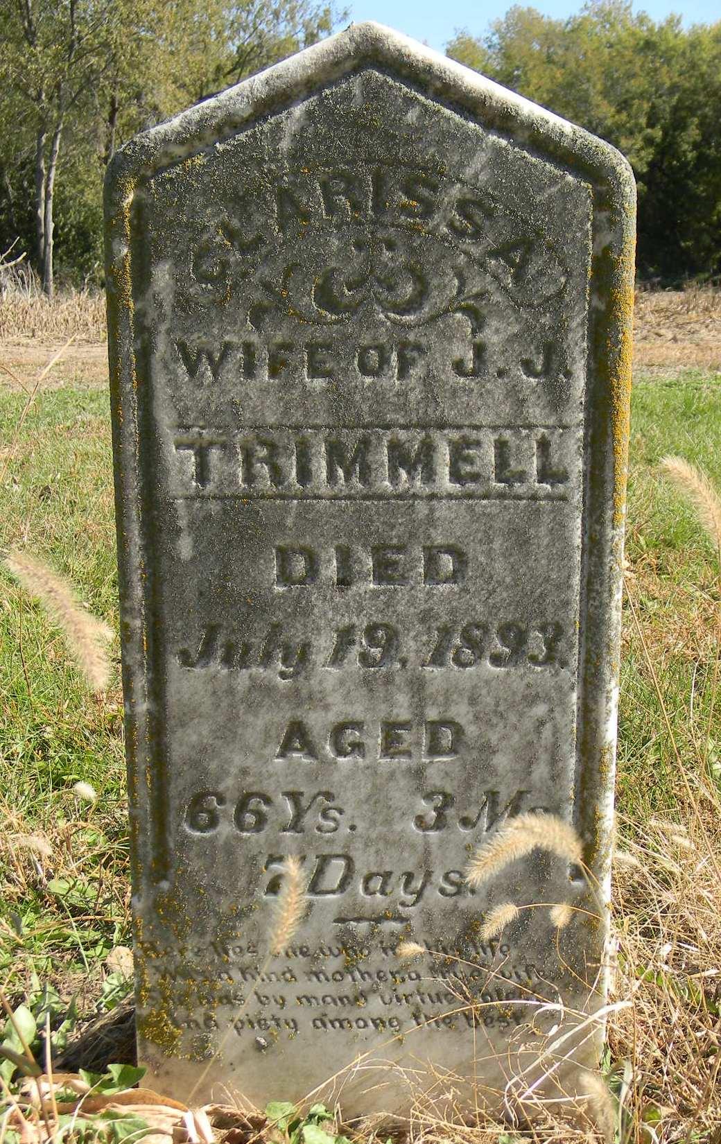 Mary Clarissa <i>Meade</i> Trimmell