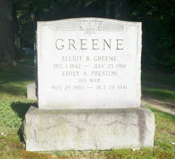 Emily A <i>Preston</i> Greene