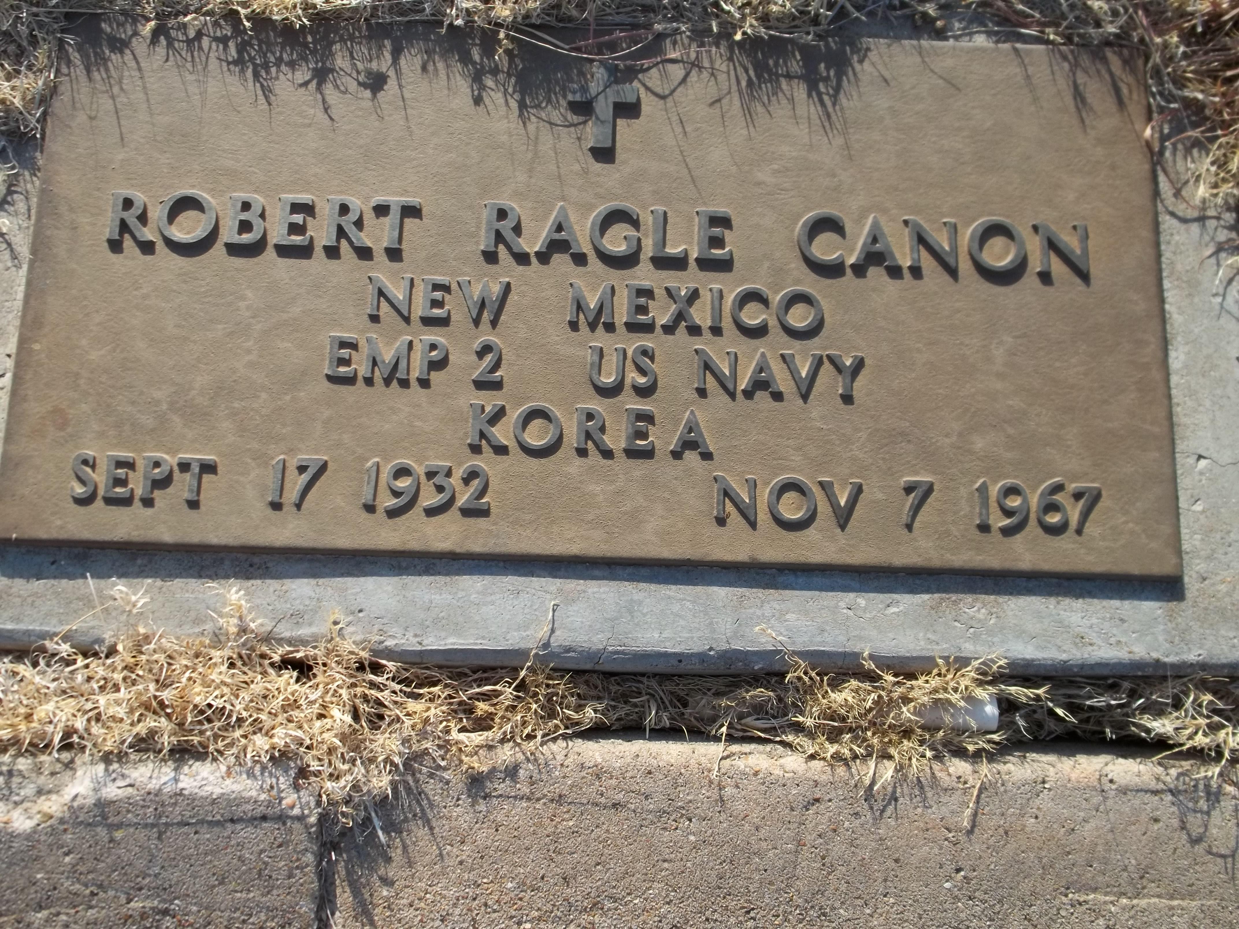 Robert Ragle Canon, Sr
