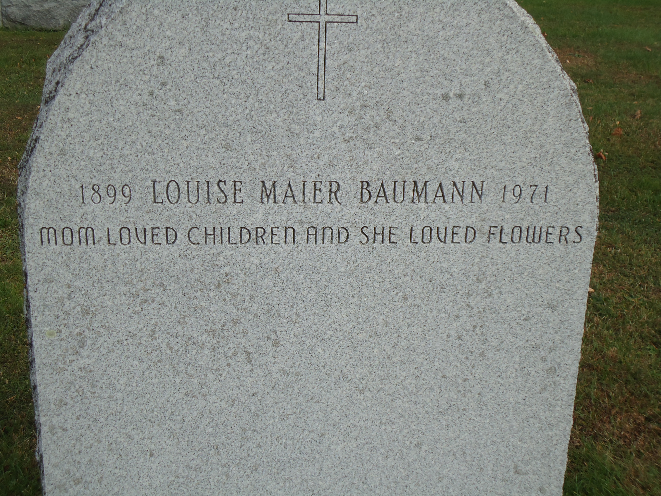 Louise <i>Maier</i> Baumann