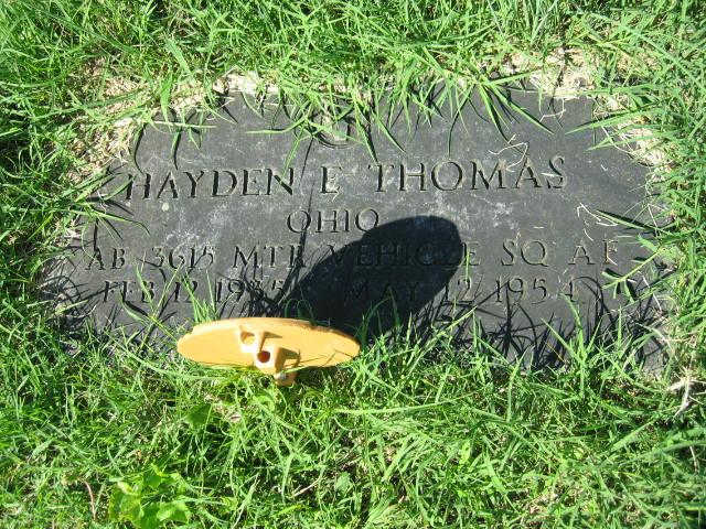 Hayden E Thomas