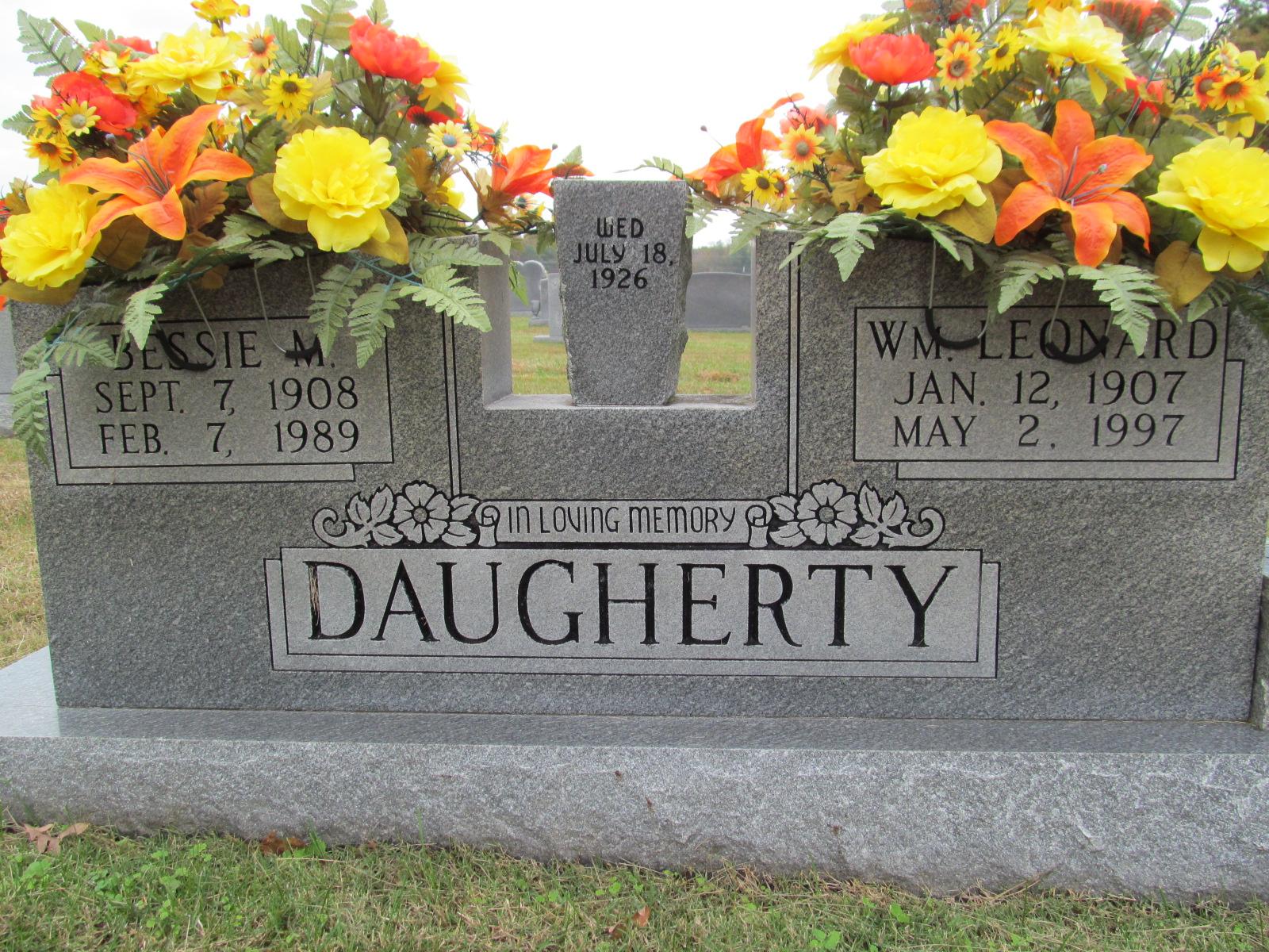 Bessie Ola <i>Mangrum</i> Daugherty